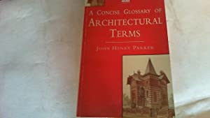 a concise glossary of architectural terms.