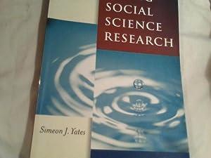 Doing Social Science research: Yates, Simeon