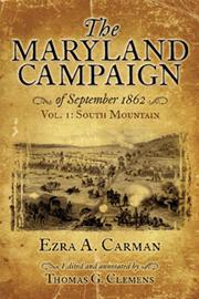 The Maryland Campaign of September 1862: Thomas Clemens