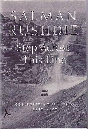 Step Across This Line: RUSHDIE, Salman