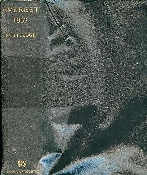 Everest 1933.: RUTTLEDGE, Hugh.