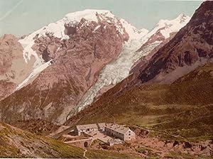 1665 P. Z. - Ortler Gipfel.: DOLOMITI - ORTLER - TRAFOI - FOTOCROMIA].