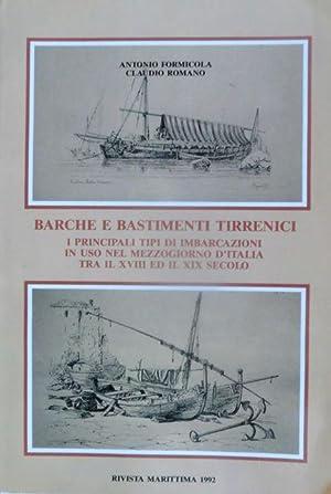 Barche e bastimenti tirrenici: i principali tipi: FORMICOLA, Antonio -