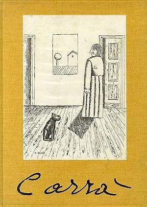 Carlo Carrà: disegni, acqueforti, litografie.: CARRÀ, Carlo - CARRÀ, Massimo.