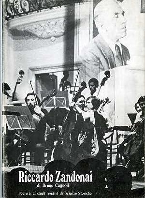 Riccardo Zandonai.: Collana di monografie; XXX.: CAGNOLI, Bruno.
