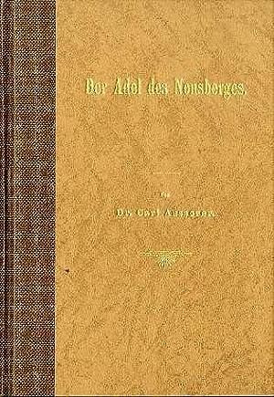 Le famiglie nobili nelle valli del Noce: AUSSERER, Karl.