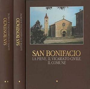 San Bonifacio: la pieve, il vicariato civile,: DALLA VIA, Mario.