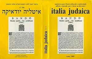 Gli ebrei in Italia dalla segregazione alla