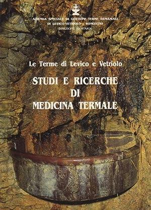 Studi e ricerche di medicina termale: le