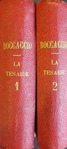 La Teseide.: BOCCACCIO, Giovanni.