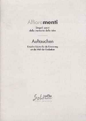 Affioramenti: Singoli spazi della memoria delle idee: NICOLETTI, Giovanna.