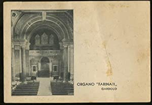 """Organo """"Farinati"""". Gardolo.: CARTOLINA FOTOGRAFICA -"""