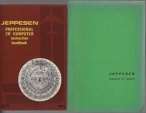 Jeppesen: Professional CR computer instruction handbook - manuale di istruzioni.