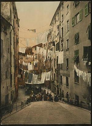8548. P. Z. - Genova. Lavatojo pubblico a Sta. Brigida.: GENOVA - LAVATOIO PUBBLICO A SANTA BRIGIDA...