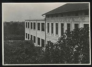 Le scuole del sobborgo di Gardolo.: FOTOGRAFIA ORIGINALE D'EPOCA