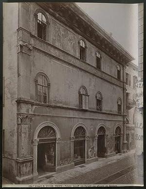 21100. Trento. Palazzo Cazzuffi ora Pernetti con affreschi del Gambara.: FOTOGRAFIA ORIGINALE D ...