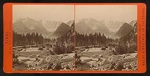 542. Tirol. Monte Cristallo von Norden. Monte Cristallo da Nord.: FOTOGRAFIA ORIGINALE D'EPOCA - ...