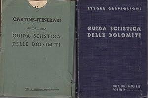 Guida sciistica delle Dolomiti.: CASTIGLIONI, Ettore.