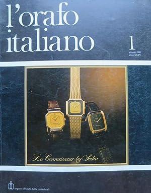 L'orafo italiano: organo ufficiale della Confedorafi.: A.
