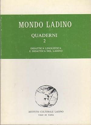 Didattica linguistica e didattica del ladino: Convegno: HEILMANN, Luigi.