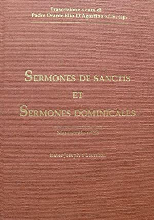 Sermoni sui santi e Sermoni domenicali: manoscritto: GIUSEPPE DA LEONESSA.