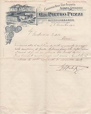 Commercio Grani - Vino - Acquavite: G.: PIETRO PEZZI -