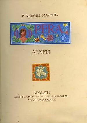 Opera: 1: Aeneis; 2: Bucolica, Georgica.: VERGILIUS MARO, Publius.