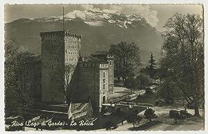 La Rocca di Riva.: Titolo originale al: CARTOLINA POSTALE FOTOGRAFICA
