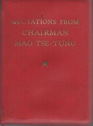 Quotations from chairman Mao Tse-tung.: 2. ed.: MAO, Zedong.