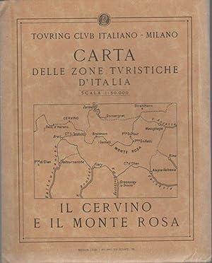 Carta delle zone turistiche d'Italia: Il Cervino: CERVINO E MONTE