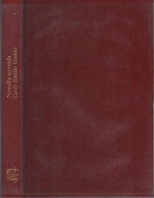 Novella seconda: omaggio dell'editore.: Romanzi moderni;: GADDA, Carlo Emilio.