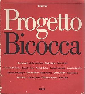 Progetto Bicocca: [Concorso internazionale di progettazione urbanistica: SECCHI, Bernardo -