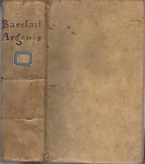 Ioannis Barclaii Argenis.: Editio IIII.: BARCLAY, John.