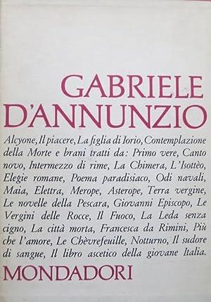 Alcyone - Il piacere - La figlia: D'ANNUNZIO, Gabriele.
