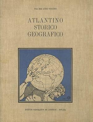 Atlantino storico geografico.: VISINTIN, Luigi.
