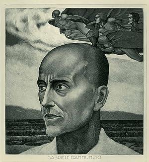 Gabriele D'Annunzio.: BONAZZA, Luigi.