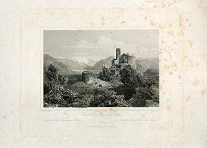 Schloss Hoch-Eppan bei Botzen.: WÜRTHLE, Friedrich Karl