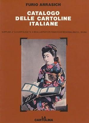 Catalogo delle cartoline italiane.: ARRASICH, Furio.