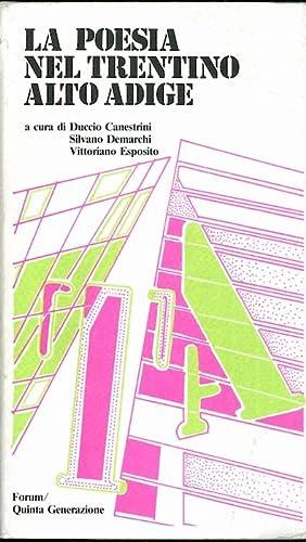 La poesia nel Trentino Alto Adige.: Supplemento: CANESTRINI, Duccio -