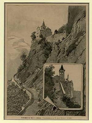 Hellenkirche bei Mori in Südtirol.: MORI - BRENTONICO - LOPPIO - MONTE BALDO].