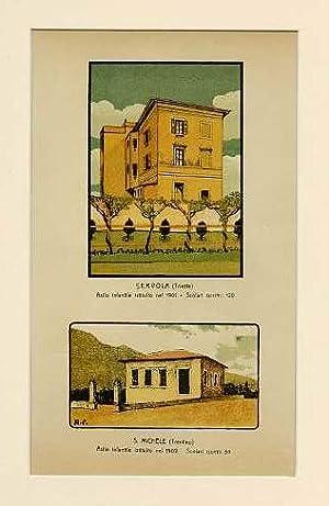 Servola (Trieste) Asilo infantile istituito nel 1901.: TRIESTE - TRENTINO