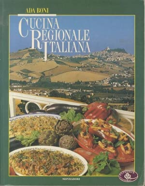 Cucina regionale italiana.: 2. ed.: BONI, Ada.