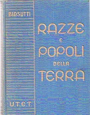 Le razze e i popoli della terra.: BIASUTTI, Renato
