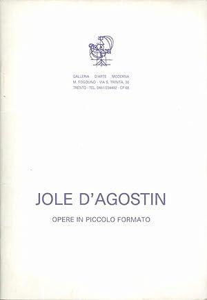 Jole D'Agostin: opere in piccolo formato.