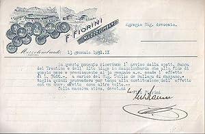 F. Fiorini - Mezzolombardo.: F. FIORINI -