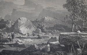 Die Lavini di S. Marco im Süd-Tyrol.: Dante s Hölle XII. Gesang.: SEELOS, Gottfried.