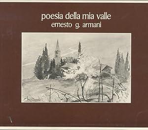 Poesia della mia valle.: Sessanta tavole da: MANFRINI, Talieno -