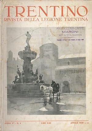 Trentino: rivista della Legione Trentina.