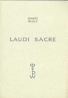Laudi sacre.: WOLF, Dario.