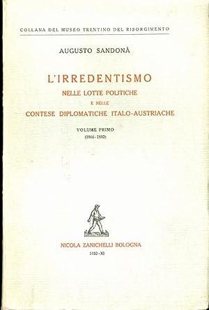 L'irredentismo nelle lotte politiche e nelle contese: SANDONÀ, Augusto.